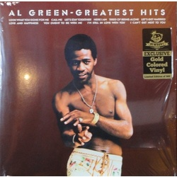 Al Green Greatest Hits limited editon 180gm GOLD vinyl LP + download