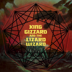 King Gizzard & Lizard Wizard Nonagon Infinity GREEN/BLACK splatter vinyl LP