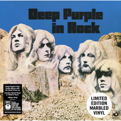Deep Purple In Rock HMV exclusive 180gm marbled vinyl LP + download