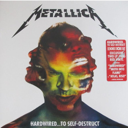 Metallica Hardwired To Self-Destruct RSD 180gm RED vinyl 2 LP +download