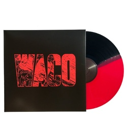 Violent Soho Waco RSD 2017 AU exclusive split RED / BLACK vinyl LP
