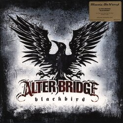 Alter Bridge Blackbird 10th Anny MOV #d RED vinyl 2 LP gatefold sleeve