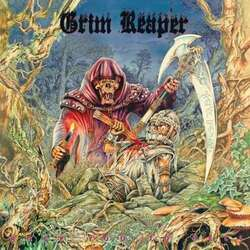 Grim Reaper Rock You To Hell 180Gm Reissue Remastered Limited Edition Green Translucent vinyl LP
