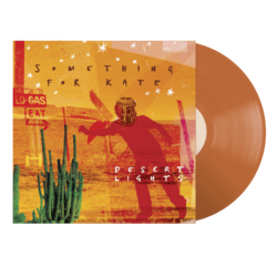 Something For Kate Desert Lights ORANGE vinyl LP