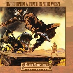 Once Upon A Time In The West soundtrack Ennio Morricone vinyl LP g/f