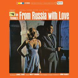 Bond From Russia With Love soundtrack John Barry reissue 180gm vinyl LP