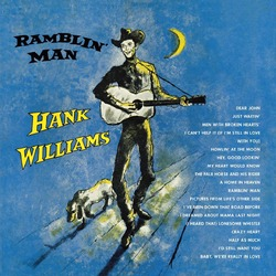 Hank Williams Ramblin' Man vinyl LP