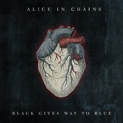 Alice In Chains Black Gives Way To Blue Coloured Vinyl LP +g/f
