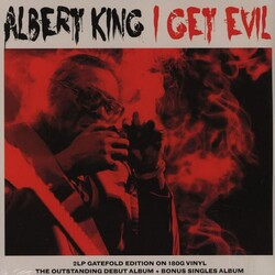 Albert King I Get Evil  Vinyl 2 LP