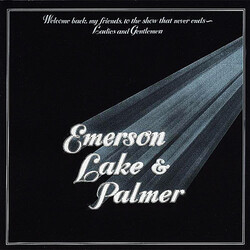 Emerson Lake & Palmer Welcome Back My Friends To The Show That Never End Vinyl 3 LP
