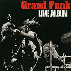 Grand Funk Railroad Live Album 180gm ltd Vinyl 2 LP +g/f