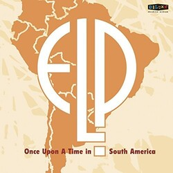 Emerson Lake & Palmer Once Upon A Time In South America Vinyl 2 LP