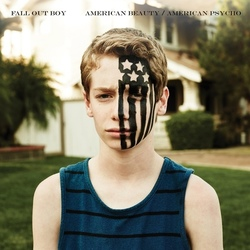 Fall Out Boy American Beauty American Psycho Island vinyl LP Blue Vinyl