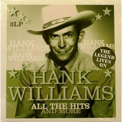 Hank Williams All The Hits And More The Legend Lives On Vinyl Passion DMM 180gm Import vinyl 3 LP