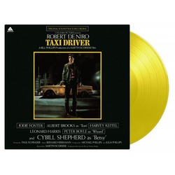 Taxi Driver Soundtrack MOV limited numbered 180gm YELLOW vinyl LP