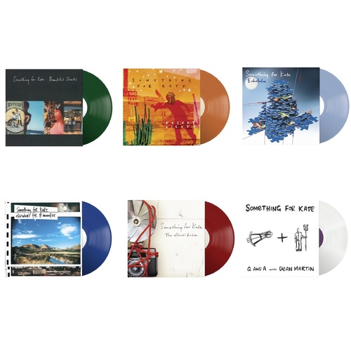 Something For Kate bundle of all 6 vinyl reissue LPs