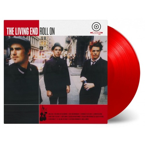 The Living End Roll On MOV limited edition numbered 180gm RED vinyl LP