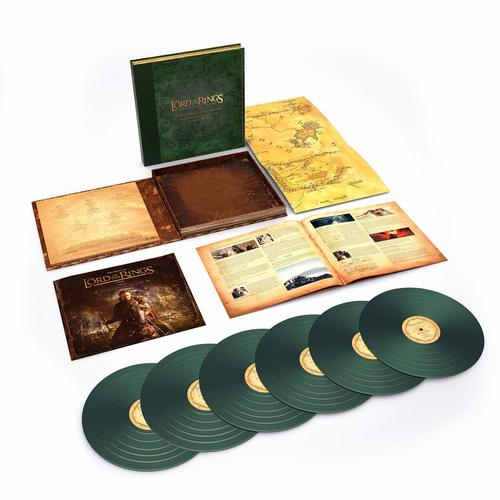 Howard Shore Lord Of The Rings The Return Of The King GREEN vinyl 6 LP book set