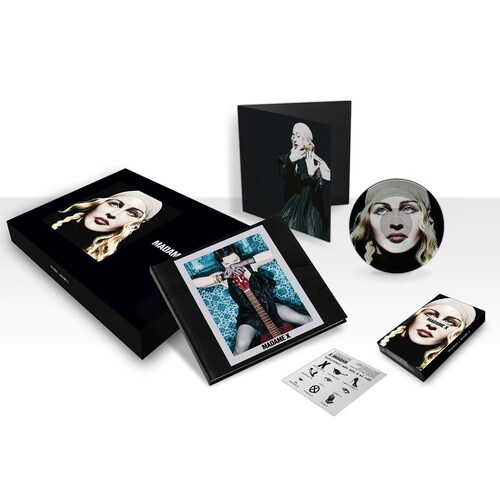"Madonna Madame X deluxe box set 2 CD + cassette + 7""+ extras"
