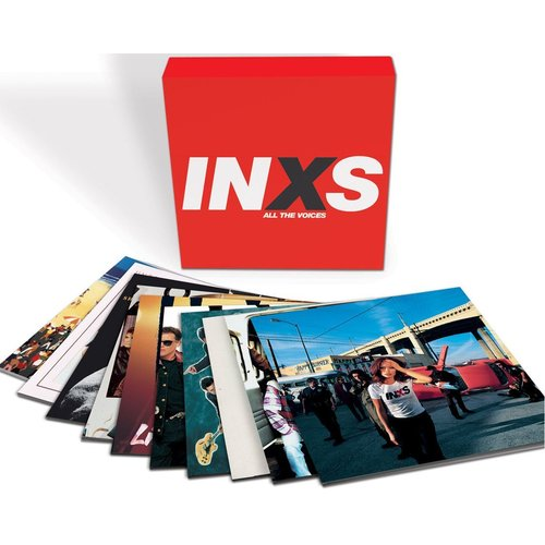 INXS All The Voices 180gm vinyl 10 LP box set +download