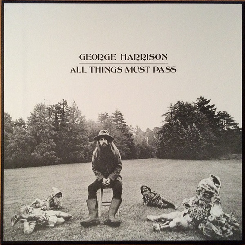 George Harrison All Things Must Pass 2017 180gm vinyl 3 LP box set