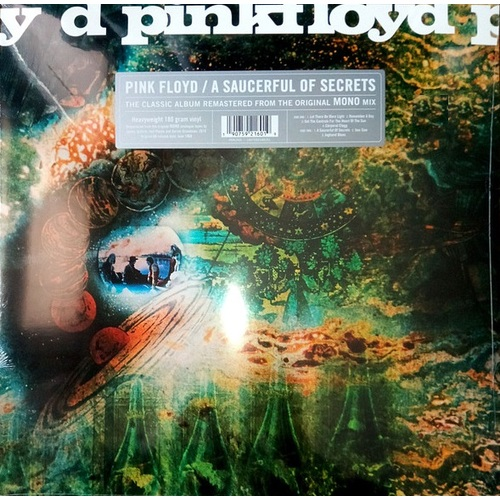 Pink Floyd A Saucerful Of Secrets RSD 2019 US issue MONO vinyl LP