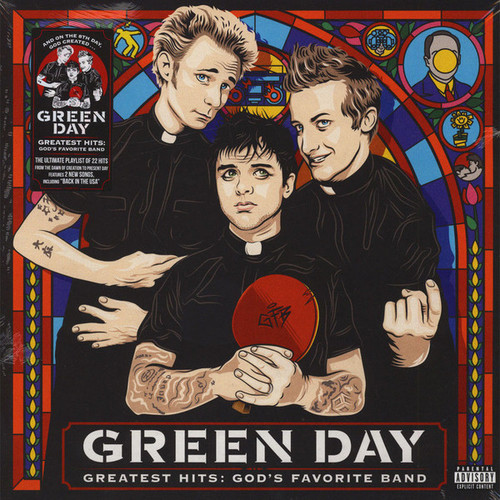 Green Day Greatest Hits: God's Favorite Band Vinyl LP