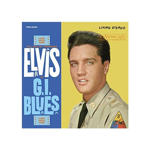 Elvis Presley G.I. Blues 180gm ltd Vinyl LP +g/f